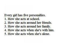 5 personalties