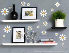 Daisy Decal Kit Wall Decal