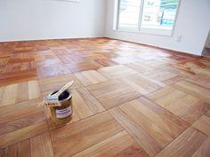 チーク無垢フローリング #Teak #Flooring #Parquet #Kreidezeit