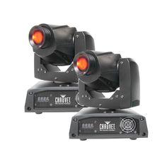 Chauvet Intimidator Spot 150 - (2) LED DMX Moving Head Yoke DJ Lights INTIM-SPOTLED150,    #Chauvet Lasers