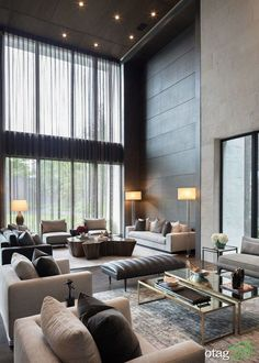 99 of the most popular living room decoration design ideas ~ Top Home Design Best Modern House Design, Home Design, Modern Interior Design, Design Ideas, Design Dintérieur, Design Homes, Design Firms, Design Projects, Design Inspiration