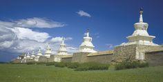 Kloster Erdenzuu Statue Of Liberty, Taj Mahal, Building, Travel, Buddhism, Round Trip, Destinations, Landscape, Viajes