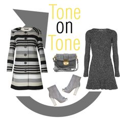 """Shake Up Your Work Wardrobe - The Grey Debate"" by latoyacl ❤ liked on Polyvore"