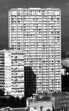 Tour Tokyo - Olympiades - Paris 13e Le Pigeon, Tours, Skyscraper, Architecture Design, Buildings, Multi Story Building, Mid Century, Album, Skyscrapers