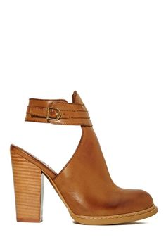 Montana Booties in Cognac