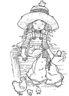 Fabulous coloring pages with exciting possibilities for embroidery.  Wouldn't these make lovely quilt squares?