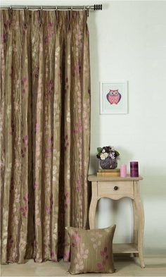'BITTERSWEET CHOCOLATE' MADE TO MEASURE CURTAINS (BROWN) $51.00  https://www.spiffyspools.com/collections/curtains/products/bittersweet-chocolate-curtains?variant=1820945907736