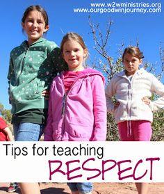 Tips for Teaching Respect