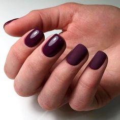 Повседневный+деловой+маникюр:+15+вариантов+на+короткие+ногти