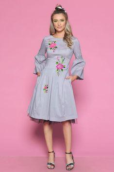 Rochie TARMA G - Mathilde High Neck Dress, Clothing, Summer, Dresses, Fashion, Tulle, Turtleneck Dress, Outfits, Vestidos