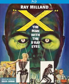 X: The Man with the X-Ray Eyes - Blu-Ray (Kino Region A) Release Date: May 12, 2015 (Amazon U.S.)