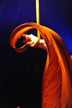 aerial silks - awesome shot - One style of performing art I want to try at least once.