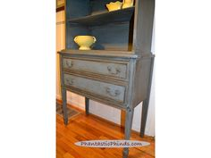 Phantastic Phinds: How To Use Chalk Paint® Annie Sloan: Step-by-Step DIY Painted Hutch-Home and Garden Design Ideas!