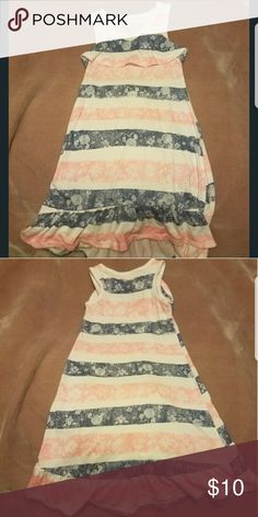 Disney Minnie mouse long summer dress 3T Disney long summer dress gently used in great condition.  Hung to dry 3T Disney Dresses