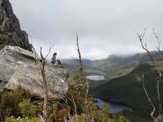 Stunning view out over the wilderness from Barron's Pass on the way to the summit of Frenchmans Cap on the West Coast. Image sent in by Samantha Climie https://instagram.com/p/BNAbYL4Du1h/