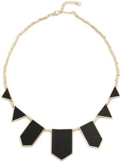 House of Harlow 1960 Station Leather Necklace - $75.00
