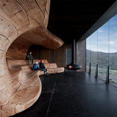 Norwegian Wild Reindeer Centre Pavilion, 2011 by Snøhetta