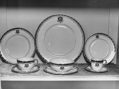 White House China Collection, Designed by Franklin D. Roosevelt and Made by Lenox