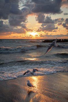 Presque Isle Sunset ~ Lake Erie, Pennsylvania by Christopher Lane Photography