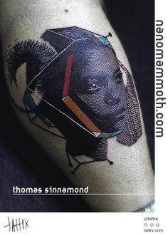tattrx | Thomas Sinnamond - Nanomammoth Tattoo - Seattle