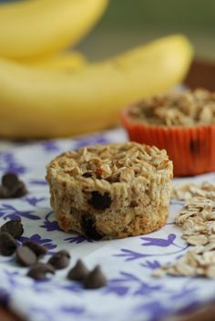 Banana Oatmeal Muffins -- Real Mom Nutrition