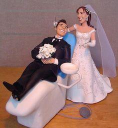 Dentist wedding