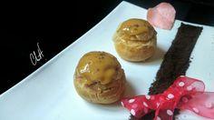 Petit chou au café de M. Adam / Chut je pâtisse Menu, Muffin, Pudding, Ice Cream, Eggs, Breakfast, Desserts, Christophe Adam, Food