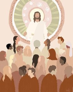 Towards Him by Marni B. | Jesus is the Christ | Latter Day Saint | Church of Jesus Christ | Faith | Come Follow Me | Well Within Her | Hope | LDS Artwork | Faith in Jesus Christ | Christian Artwork | Come Unto Christ #wellwithinher #sharegoodness #comefollowme #lds #faith #hope #ldsart #jesuschrist #faithinchrist Bible Art, Bible Verses, Arte Lds, Jesus Is Life, Christian Wallpaper, Christian Artwork, Jesus Wallpaper, Jesus Art, Bible Encouragement