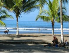 Jaco, Costa Rica....college fall break surf sessions were attempted here