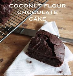 Well hello there, everyone--long time no see.I have been meaning to share this recipe for, hmm, about 6 months now, so no more procrastinating: it\\\'s chocolate cake time. More specifically, grain-free, coconut flour chocolate cake.I have�had�multiple requests for a chocolate cake made with coconut flour since posting my Vanilla Coconut ...