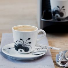 Espresso #051 Mug designed for Royal Copenhagen 2013. Comes in White, Blue and black Mega.