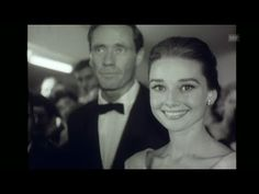 Audrey Hepburn in Zürich for the premiere of The Nun's Story (1959) - YouTube