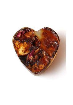 Naturalne serce różane/Natural heart – rose