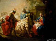 Januarius Zick - The Adoration of the Kings