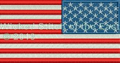 why is the us flag patch backwards