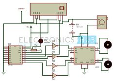 Remote Operated Spy Robot Circuit - Video Transmission Section