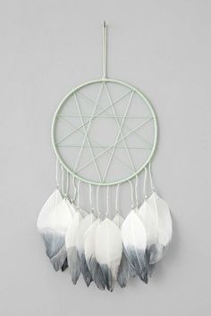 Delightful Magical Thinking Double Star Dreamcatcher   Urban Outfitters By Bettie