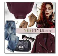 """""""YESSTYLE.com"""" by monmondefou ❤ liked on Polyvore featuring COII, BeiBaoBao, maurices, DANI LOVE, Wrap and yesstyle"""