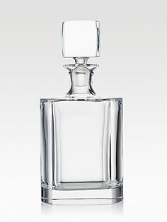 Rogaska Manhattan Whiskey Crystal Decanter