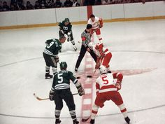 The Hartford Whalers, with Gordie, Mark, and Marty Howe in their line-up, play the at Joe Louis Arena. Olympia Stadium, Houston Aeros, Detroit Vs Everybody, Joe Louis Arena, Quebec Nordiques, Hartford Whalers, Red Wings Hockey, The Joe, Great Pic