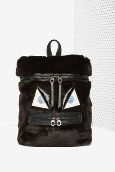 Nasty Gal x Nila Anthony Gone Mad Faux Fur Backpack | Shop Product at Nasty Gal!