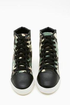 Army Brat Sneaker. #ShoeCult by #NastyGal