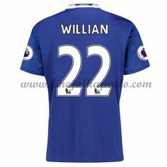 Jalkapallo Pelipaidat Chelsea 2016-17 Willian 22 Kotipaita