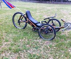 "This is the seat   XD. This instructable outlines the steps required to build an inexpensive wooden recumbent trike seat from 1/8"" plywood."