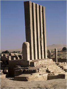 Temple of Marib (7c. BC), Marib, Yemen