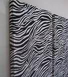 Zebra Print Bedroom Accessories - Headboard