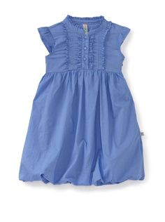 KANZ Girl's Ruffle-Trimmed Dress at MYHABIT