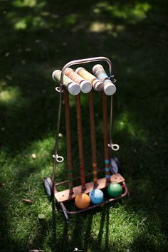 croquet aww reminds me of me childhood at my granny gooses house! :)