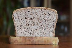 Zdrowie na języku: Chleb z kaszy gryczanej - tylko 3 składniki! Gluten Free Recipes, Free Food, Keto, Bread, Brot, Baking, Breads, Gluten Free Menu, Buns