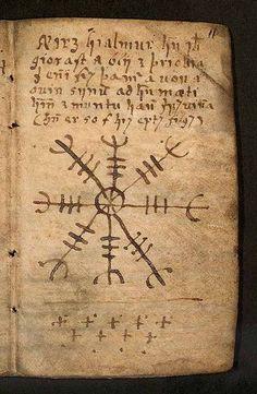 Ægishjálmur. Icelandic stave rune